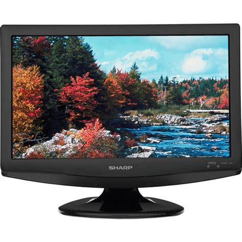 Tv Sharp Js 250 sharp lc 19sb24u 19 quot 16 9 720p lcd tv black lc19sb24u b h