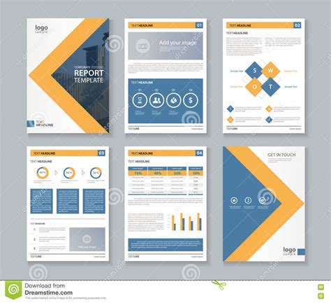 Business Report Cover Page Mughals Corporate Template
