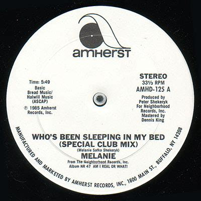 who s been sleeping in my bed melanie 2 who s been sleeping in my bed vinyl at discogs