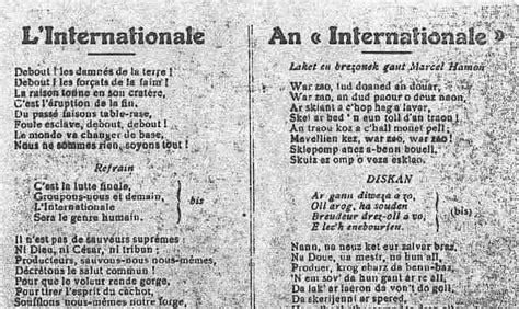 la marsigliese testo e traduzione canzoni contro la guerra l internationale