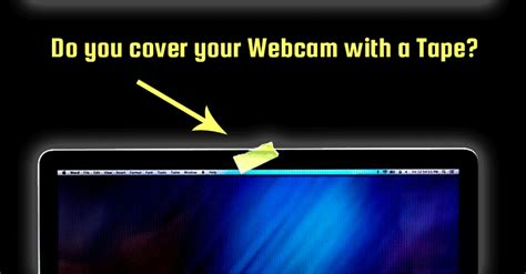 fbi director you should cover your webcam with tape
