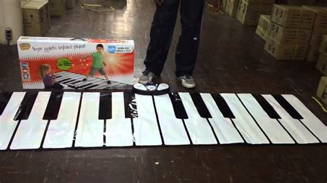 piano mat with lights keyboard piano