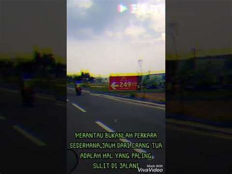 quotes anak rantau youtube