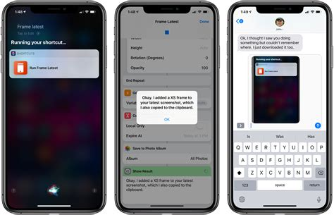 adding device frames to iphone xs and xs max screenshots with shortcuts macstories