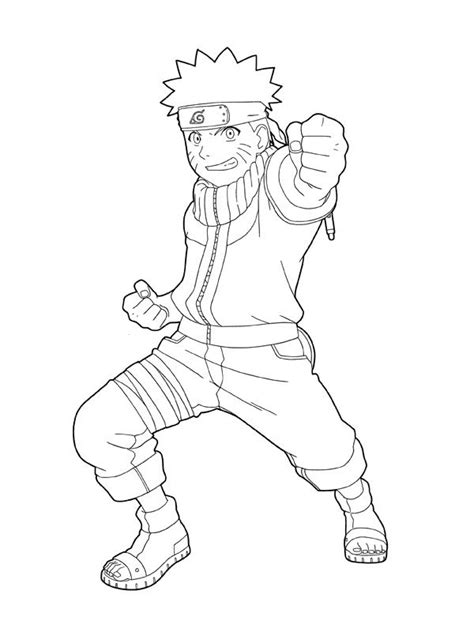 printable coloring pages naruto naruto coloring pages