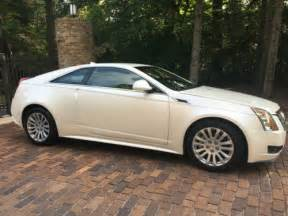 Cadillac Cts Coupe White 2012 Cadillac Cts Coupe Pearl White For Sale On