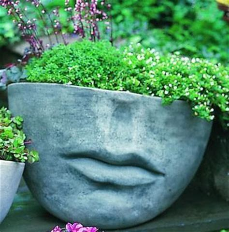 large head planters unique garden planters and displays earth wallpaper
