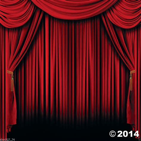 backdrop design theater hollywood movie magic show circus party photo booth red