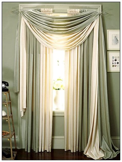 scarf curtain ideas scarf window treatment pictures and ideas
