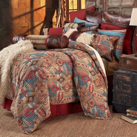 Western Quilt Bedding Sets Ruidoso Western Bedding Rustic Comforter Set