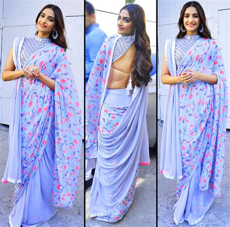 How To Drape Saree In Different Style 5 Saree Styling Tips To Steal From Sonam Kapoor Indian
