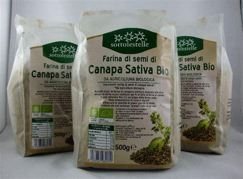 sottolestelle farina di semi di canapa bio 3 conf