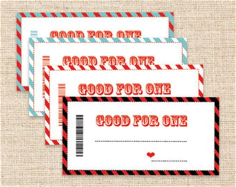 printable coupons blank coupons in 4 color choices