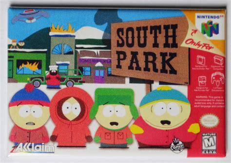 nintendo  south park  video game fridge magnet video