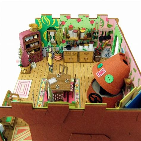 Ghibli Papercraft - new 1 48 studio ghibli sankei house mk07 13 paper craft