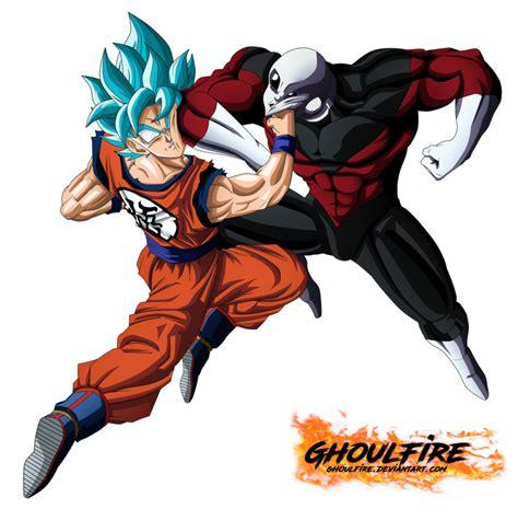 imagenes super originales goku vs jiren by ghoulfire inspire dragon ball super