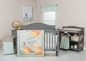 Oh The Places You Ll Go Crib Bedding Trend Lab Dr Seuss Oh The Places You Ll Go Unisex Baby Nursery Crib Bedding Set Ebay
