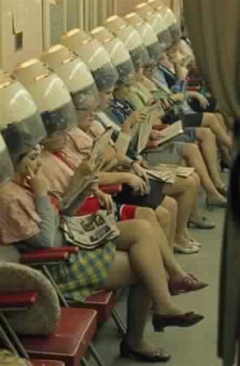 old fashinoned hairdressers and there salon potos hair salon 1950s vintage pinterest