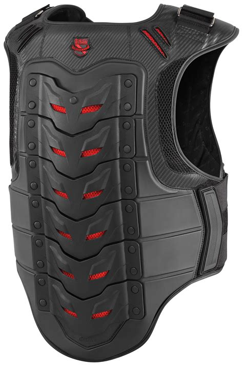 motorcycle riding vest icon stryker vest revzilla