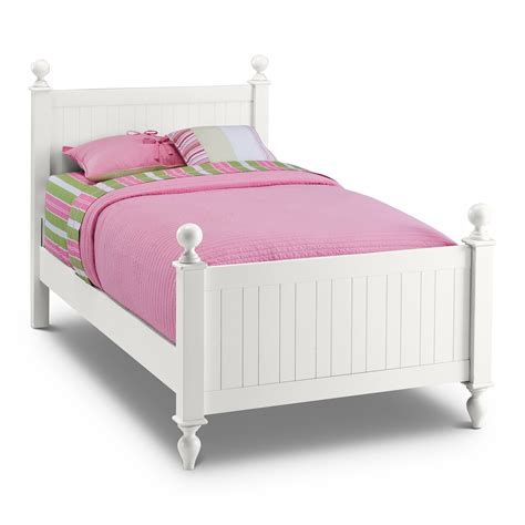 twin bed length white lacquer oak wood twin bed frame with short turned