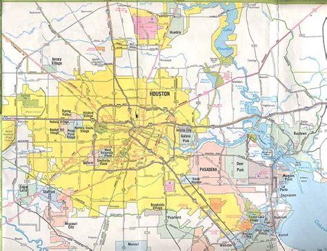 houston jurisdiction map aaroads houston