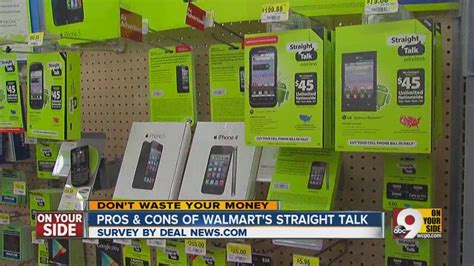 pros and cons of walmart s talk plans