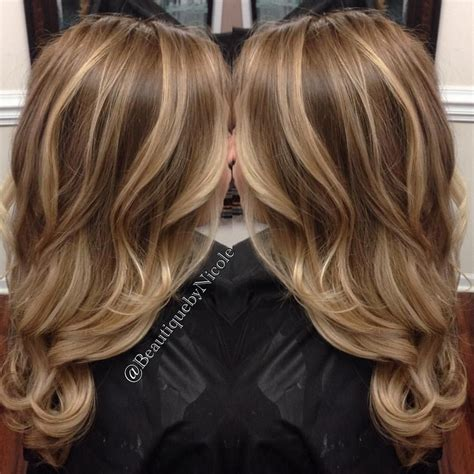 how long will it take for highlights to fade balayage on long hair blonde highlights with curled