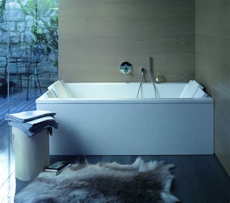 duravit starck rectangular bath   mm  support