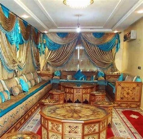 Les Rideaux Du Salon Marocain by Mod 232 Les Rideaux Pour Salon Marocain D 233 Co Salon