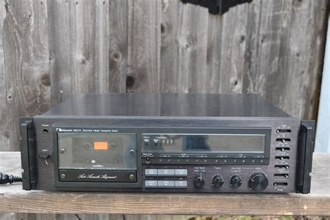 nakamichi cassette decks nakamichi cassette deck 680zx audio components vintage