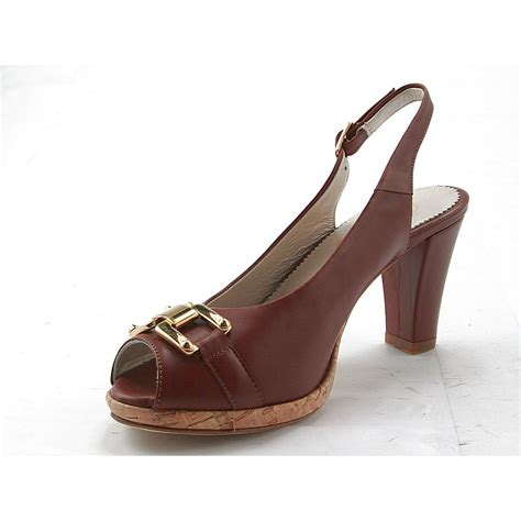 comfortable platforms small or large comfortable platform sandal in tan leather