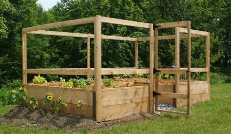 deer proof just add lumber vegetable garden