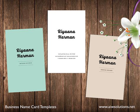 name cards template premade business card template name card template