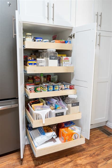 how to organize a pantry with deep shelves organizing kitchen pantry with deep shelves