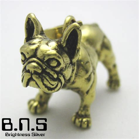 Charm Korea Anjing Bulldog brightness silver rakuten global market bulldog pendant brass brass necklace