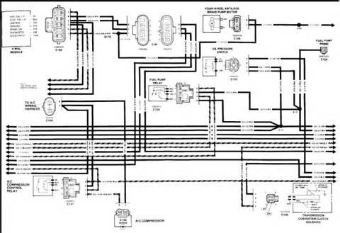 1989 Chevy Fuel Pump Wiring Diagram 89 Gmc Ecm Wiring Diagram Wiring Diagram Website