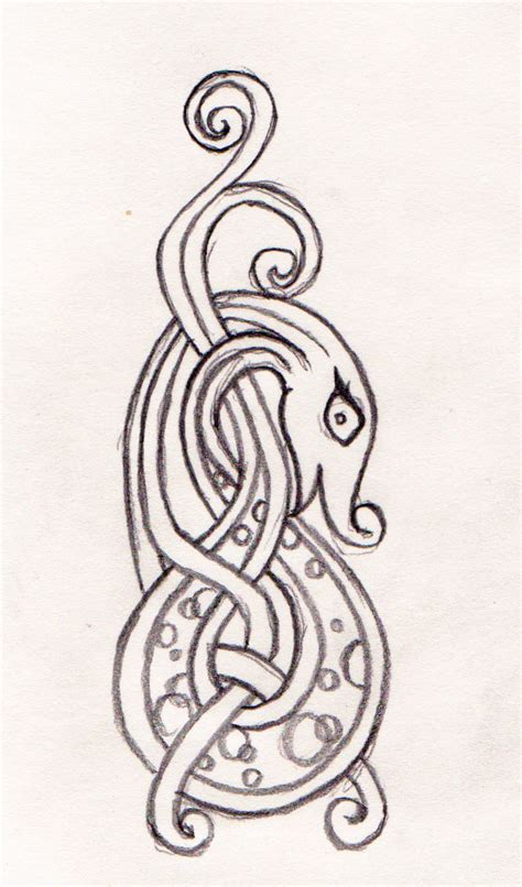 norse dragon tattoo designs norse viking designs images