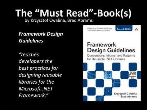 framework design guidelines krzysztof cwalina clean code iii software craftsmanship at socal code c