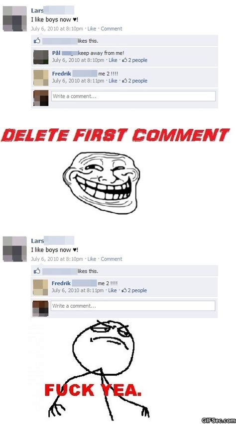 Facebook Troll Meme - funny facebook meme comments www imgkid com the image