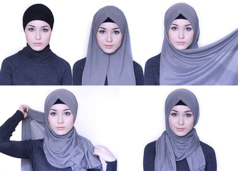tutorial hijab chic simple hijab tutorial everday simple style nabiilabee youtube
