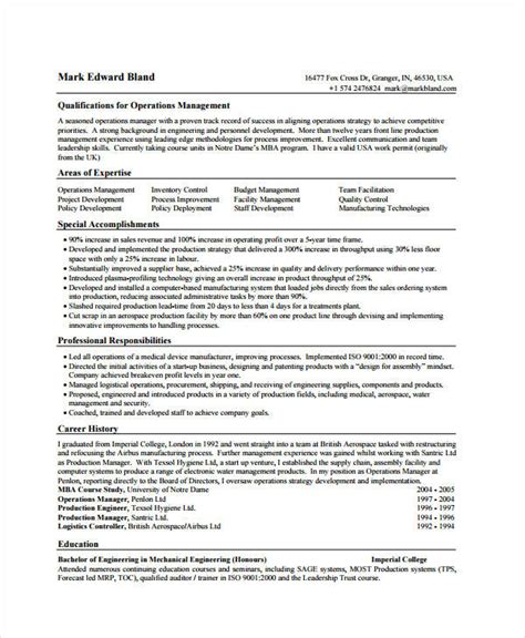 product manager resume 8 free pdf documents free premium templates