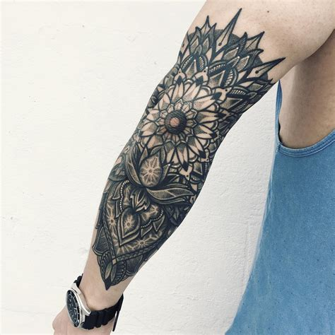 mens mandala tattoo mandala cool