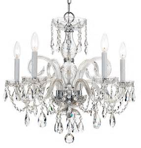 Swarovski Chandelier Price Crystorama 1005 Ch Cl S Swarovski Elements Crystal