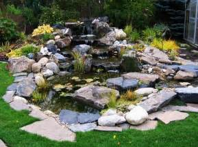 Water Feature Ideas For Small Gardens Water Features For Small Gardens To Front Yard Landscaping Ideas