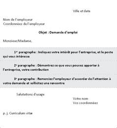 Exemple De Lettre De Présentation Avec Cv Lettre De Pr 233 Sentation Conseils De Recherche D Emploi Agence De Placement Drakkar