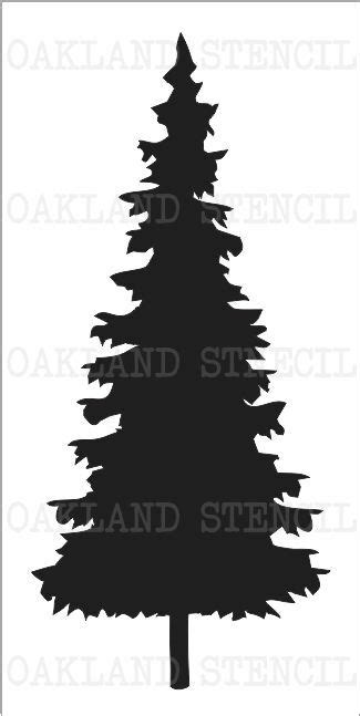 christmas tree 18 in stencil pine tree 1 stencil 7 sizes 10 quot 22 quot for signs wood canvas pillows ebay