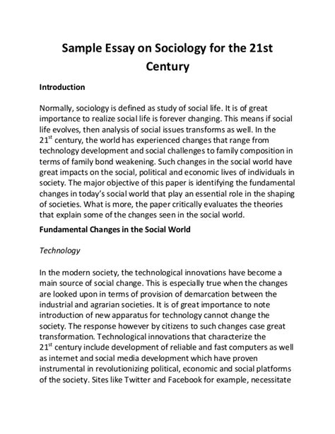 Writing A Sociology Essay by Writing A Sociology Essay Format Of References In Research Papers Athens Essay Intermills Apa