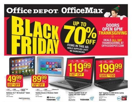 office depot black friday 2015 office depot and
