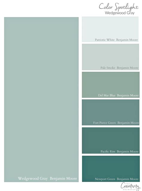 benjamin wedgewood gray color spotlight