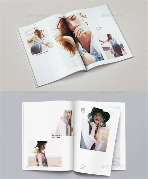indesign template lookbook 30 eye catching psd indesign brochure templates web